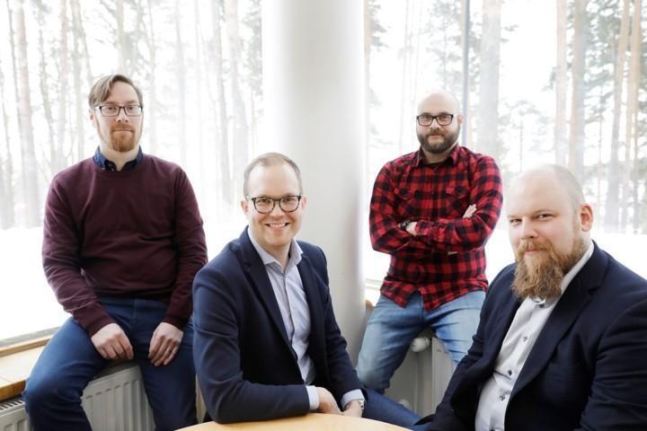 Jyväskylän yliopiston DIgiIN-tutkijaryhmä.